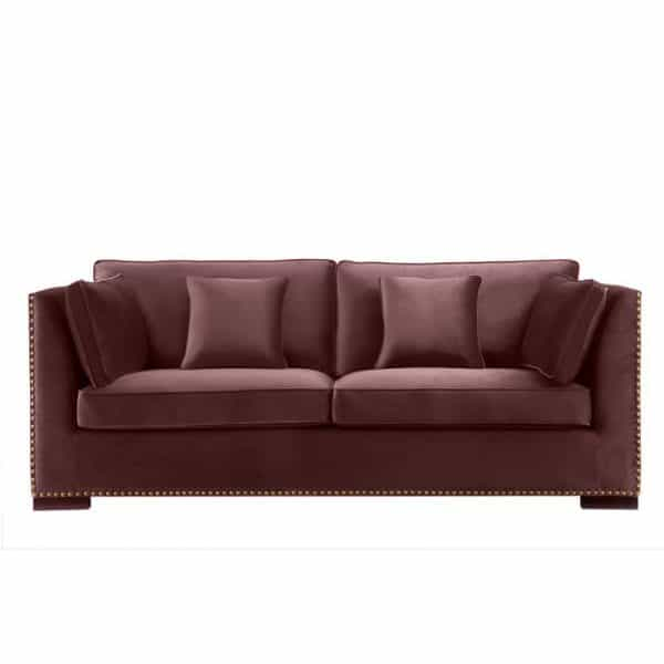 Sofa Manhattan Burgunder