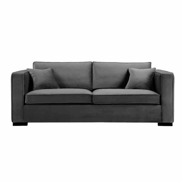 Sofa Boston Mørk Grå