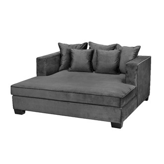 Daybed Vancouver  Velour Grå