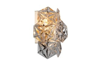 Vegg Lampe Krakow Med Glass