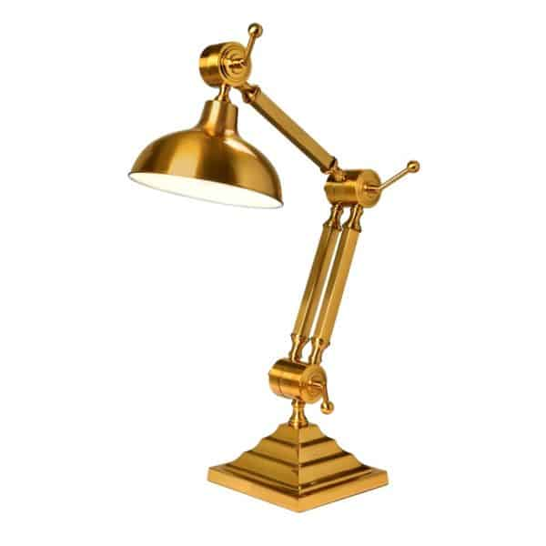 Bordlampe Memphis Gold